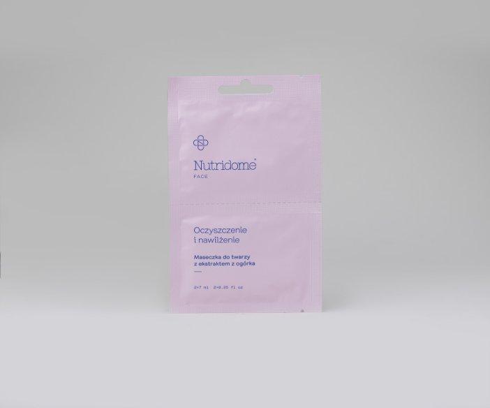 Nutridome - Maseczka do twarzy potrzebującej głębokiego oczyszczenia i regeneracji