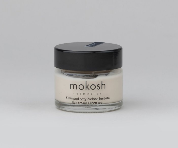 Mokosh - Pielęgnująco-łagodzący krem pod oczy z ekstraktem z zielonej herbaty