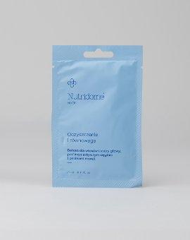 Nutridome - Peeling do włosów i skóry głowy z aktywnym węglem i pestkami moreli