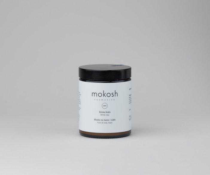 Mokosh - Maska na twarz i ciało - biała glinka Kaolin