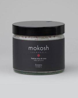 Mokosh - Oczyszczający peeling solny do ciała Żurawina o działaniu detoksykującym