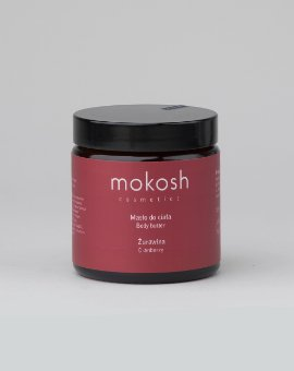 Mokosh - Bogate w składniki aktywne masło do ciała o słodkim zapachu żurawiny i odżywczym działaniu