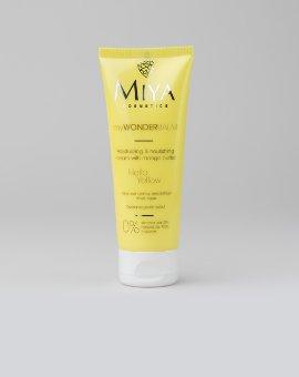Miya Cosmetics - Nawilżająco-odżywczy krem do twarzy z masłem mango i formułą QuickAbsorb