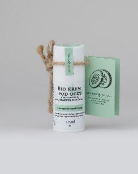 Make Me Bio - Intensywnie nawilżający krem pod oczy z witaminą E i ekstraktem z ogórka