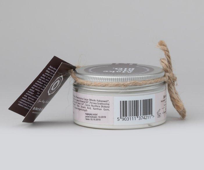 Make Me Bio - Masło do ciała dla skóry suchej z masłem kakaowym i oliwą z oliwek.