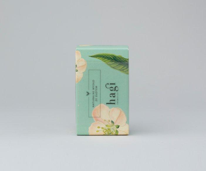 Hagi Cosmetics - Mydło do każdego rodzaju cery z naturalną rozświetlającą miką