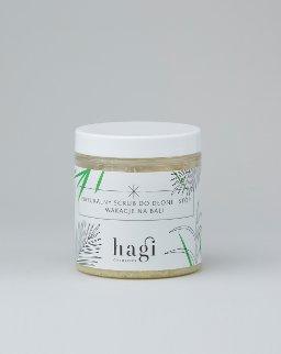 Hagi Cosmetics - Naturalny scrub do dłoni i stóp Wakacje na Bali na bazie soli bocheńskiej i masła shea