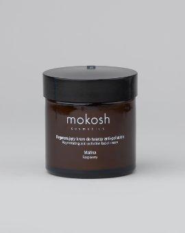 Mokosh - Regenerujący krem anti-pollution z olejem z pestek malin i witaminą  E