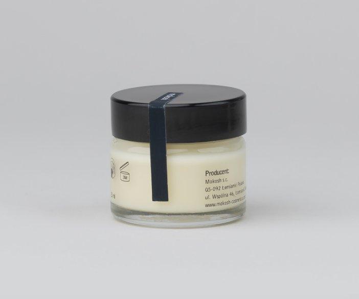 Mokosh - Regenerujący krem anti-pollution z olejem z pestek malin i witaminą  E w poręcznym słoiczku - 15 ml
