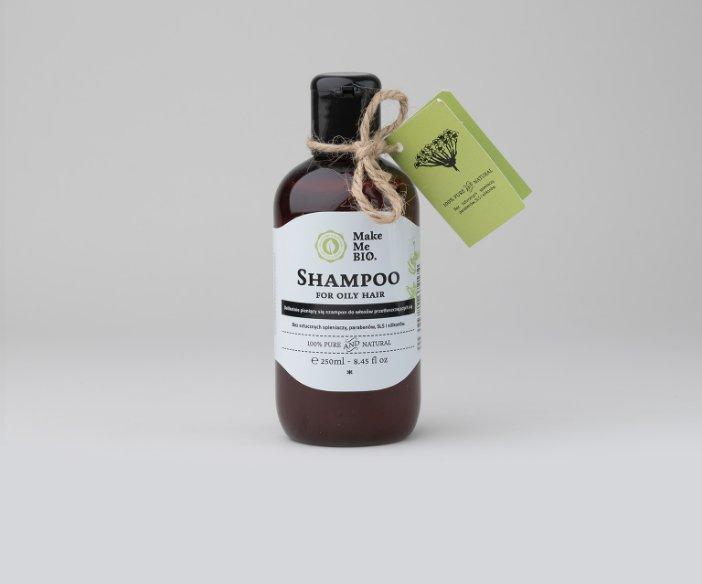 Make Me Bio - Delikatnie pieniący się szampon do włosów przetłuszczających się