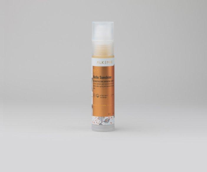 Alkemie - Rekonstruujący krem brązujący do twarzy
