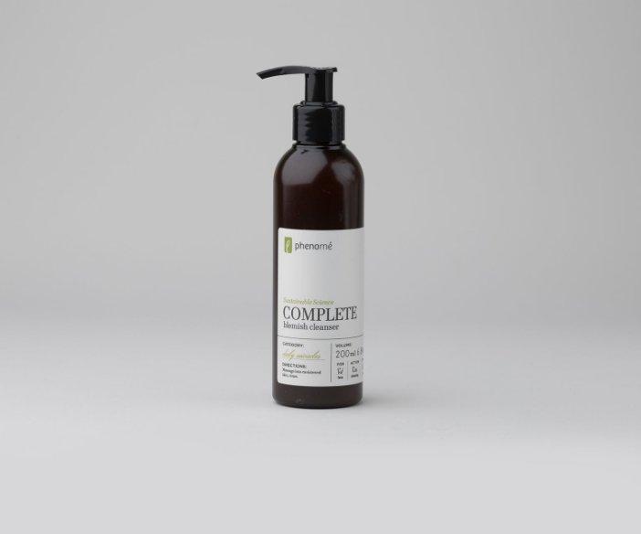 Phenome - Oczyszczająco-matujący żel do mycia skóry mieszanej i tłustej