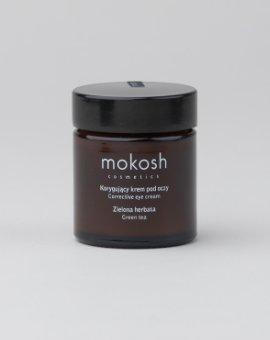 Mokosh - Wegański krem pod oczy z ekstraktem z zielonej herbaty o działaniu antyoksydacyjnym