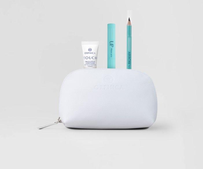 Orphica - Zestaw do makijażu i pielęgnacji paznokci z kosmetyczką