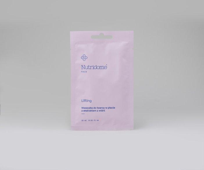 Nutridome - Nawilżające, regenerujące, liftingujące, głęboko oczyszczające i wygładzające maseczki do twarzy