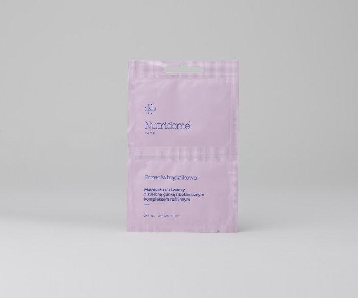 Nutridome - Tradycyjne, miękkie maseczki do twarzy o działaniu oczyszczającym, odżywiającym, przeciwtrądzikowym i minimalizującym zmarszczki