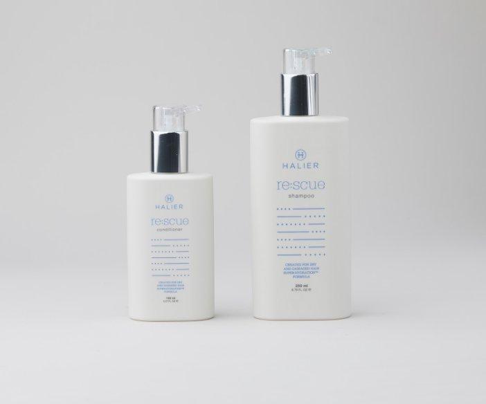 Halier - Zestaw kosmetyków do pielęgnacji włosów suchych i zniszczonych