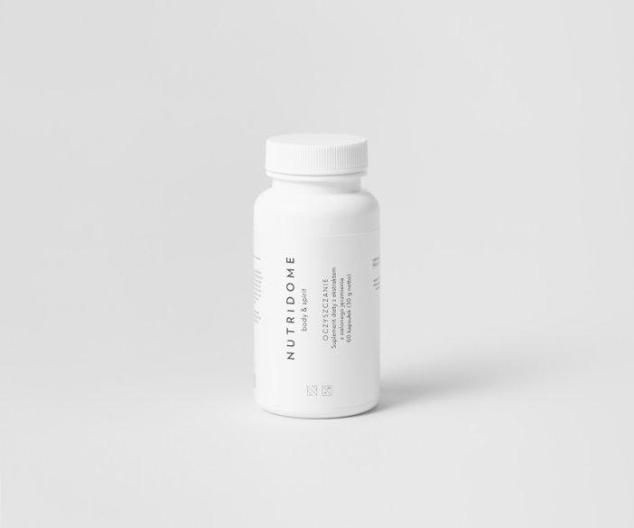 Nutridome - Suplement diety z ekstraktem z zielonego jęczmienia o działaniu oczyszczającym organizm z toksyn