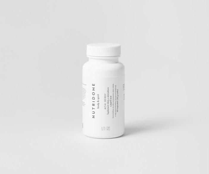 Nutridome - Suplement diety z ekstraktem z jagód acai dla utrzymania prawidłowej wagi ciała