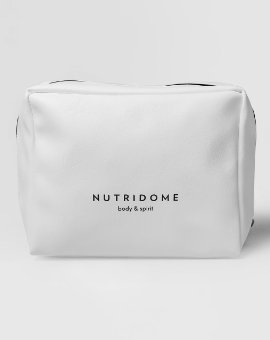 Nutridome - Elegancka i praktyczna kosmetyczka ze skóry ekologicznej