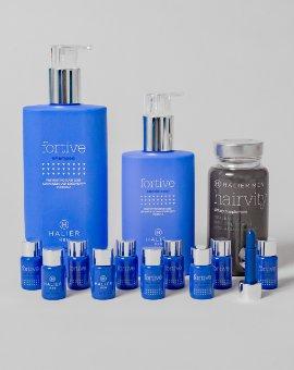Halier - Szampon i odżywka do włosów dla mężczyzn stymulujące porost włosów + nutrikosmetyk Hairvity Men + serum chroniące włosy przed wypadaniem gratis