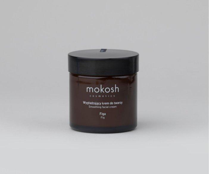 Mokosh - Wygładzający krem do pielęgnacji twarzy do każdego typu skóry o zapachu słodkiej figi