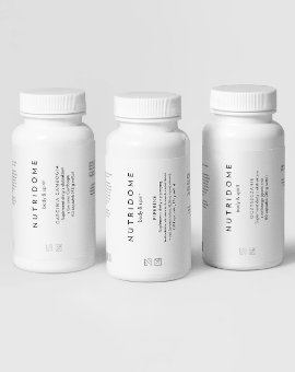 Nutridome - Zestaw suplementów wspomagających układ trawienny i odchudzanie