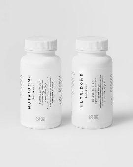 Nutridome - Zestaw suplementów dla jędrnej, gładkiej i elastycznej skóry