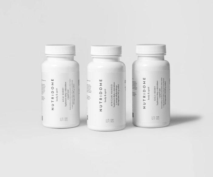 Nutridome - Zestaw suplementów dla zachowania dobrej kondycji całego organizmu