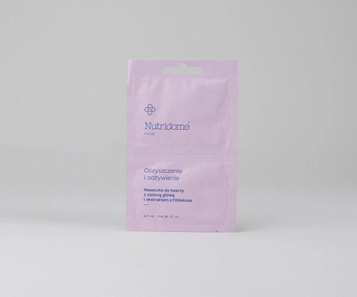 Nutridome - Zestaw głęboko oczyszczających maseczek do twarzy
