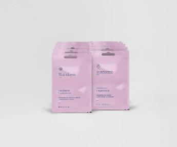 Nutridome - Zestaw maseczek łagodzących o działaniu nawilżającym i regeneracyjnym dla delikatnej skóry