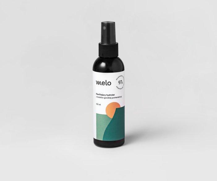Melo - Delikatny tonik  do twarzy, włosów i ciała