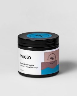 Melo - Peeling solny na bazie błota i soli z Morza Martwego