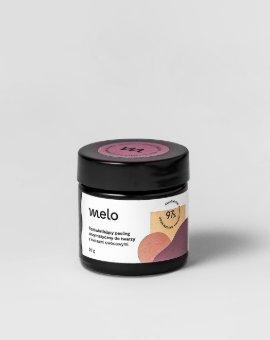 Melo - Delikatny peeling enzymatyczny do twarzy z enzymami z papai i ananasa