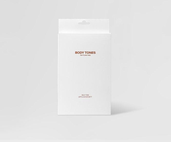 Body Tones - Dwustronna rękawica do aplikacji samoopalaczy