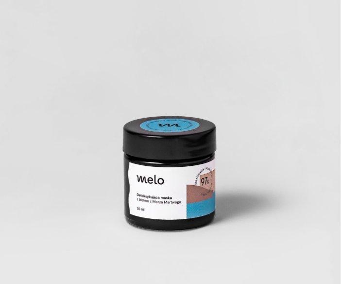 Melo - Zestaw maska i peeling z błotem z Morza Martwego