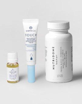 Nutridome - Komplet produktów dla mocnych włosów i paznokci
