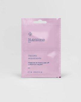 Nutridome - Wygładzające, liftingujące, oczyszczające, wzmacniające maseczki do twarzy typu peel-off